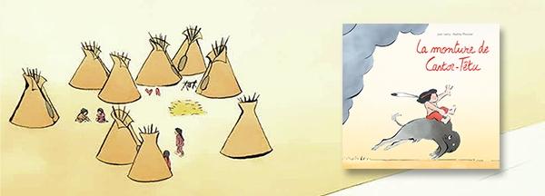 Coup de coeur jeunesse : Une monture pour Castor-Têtu