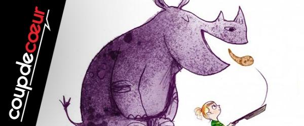 Coup de coeur jeunesse : Les rhinos ne mangent pas de crèpes