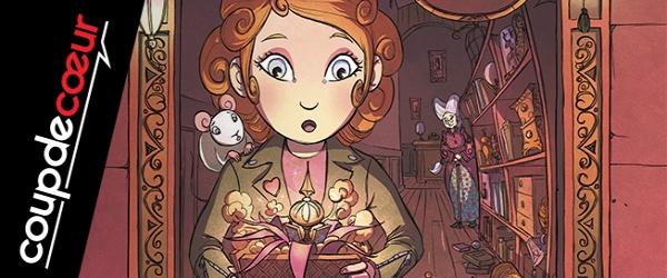 Coup de coeur jeunesse : L'étrange boutique de Miss Potimary T.1