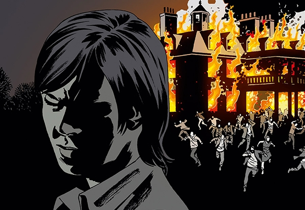 Extrait de la couverture du T.27 de Walking Dead