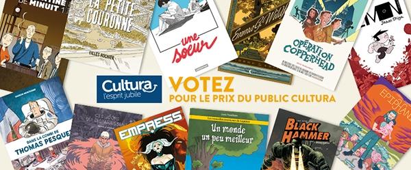 Prix du public Cultura 2018