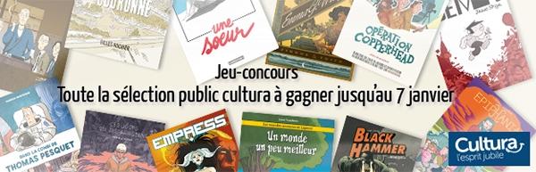Jeu-concours Prix du Public Cultura