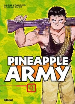 Couverture du seul tome de Pineapple Army paru en France