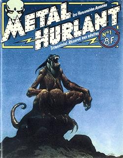 Métal Hurlan, première revue de science-fiction