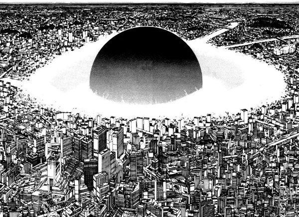 Première explosion de Neo-Tokyo, 1982