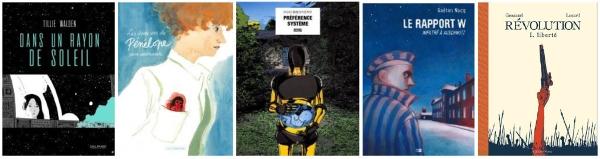 Les 5 albums finalistes