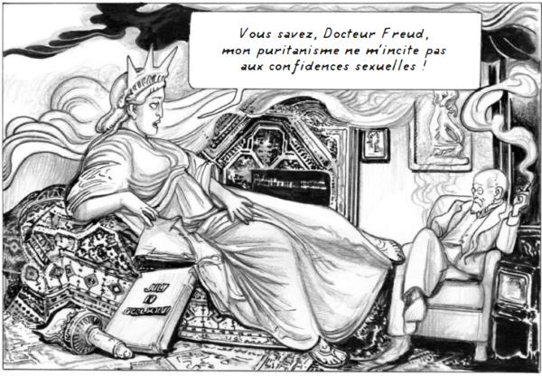 Une histoire peu connue de Freud aux États-Unis