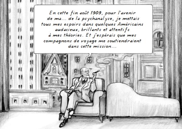 Freud va installer sa Société psychanalytique américaine