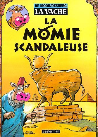 page album La momie scandaleuse