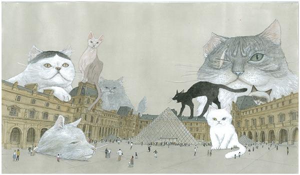 Extrait de Chats du Louvre