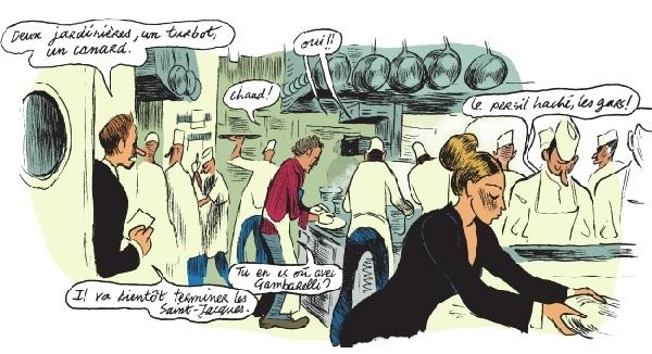 A table avec Alain Passard