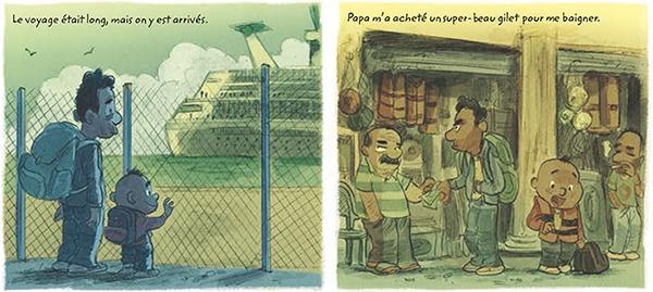 Extrait de Voir la mer de Nob dans le dossier La Crise des réfugiés