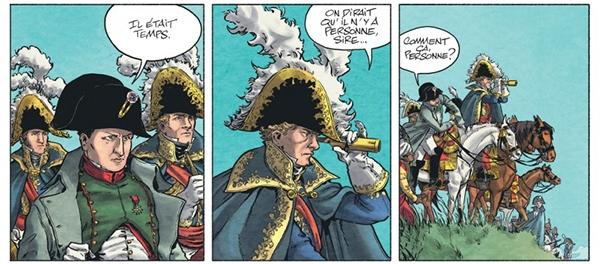 Extrait de la page 14 de Bérézina