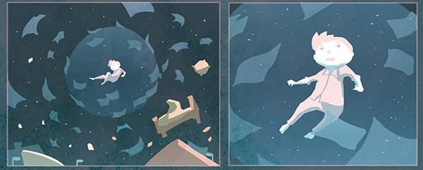 Little Nemo and the Space Oddity par Alex Marika