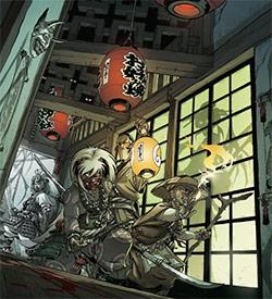 Illustration de la boîte de jeu Okko Chronicles