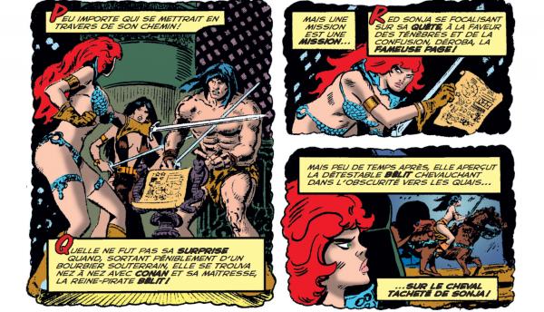 Cet opus contient le premier épisode de The Savage Sword of Conan
