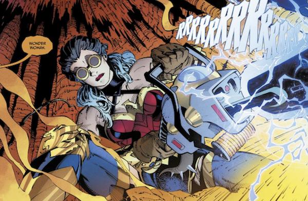 Wonder Woman, l'un des personnages clés du premier tome de Death Metal
