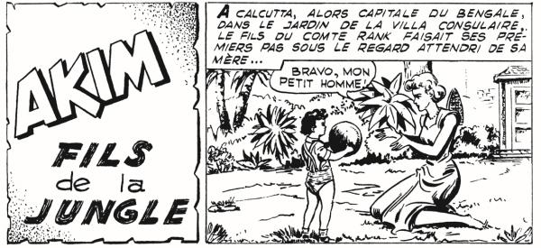 Roberto Renzi et Augusto Pedrazza s'inspirent largement de Tarzan pour leur héros Akim