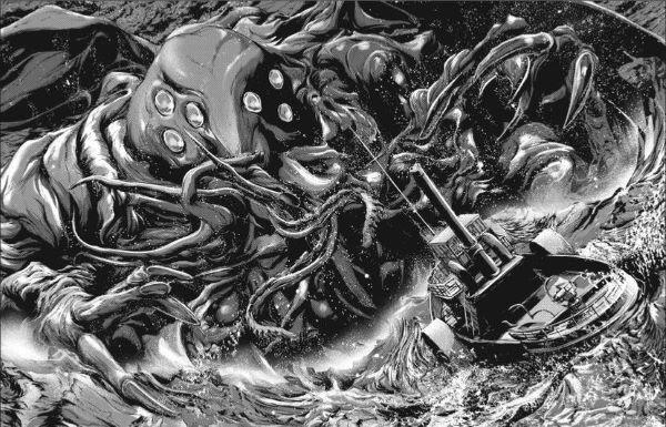Gou Tanabe adapte encore les chefs-d'oeuvre de Lovecraft