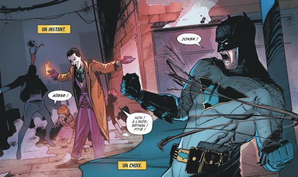 Batman et son ennemi préféré, le Joker