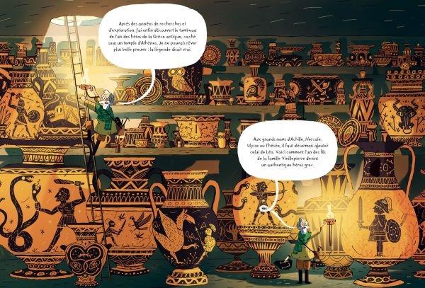 Une farandole de créatures mythologiques défile dans cette aventure