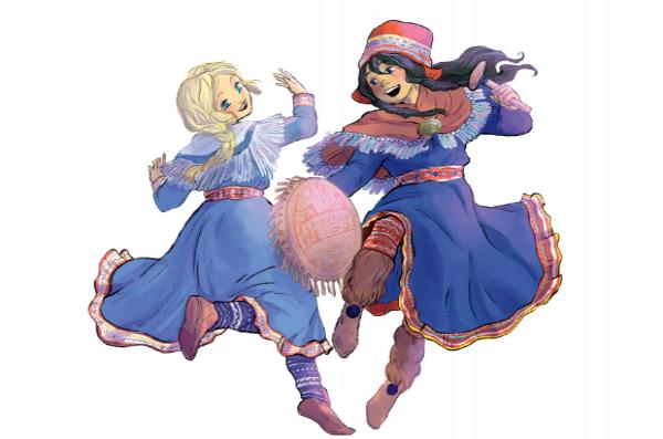 Le voyage fabuleux de deux soeurs dans les légendes nordiques !