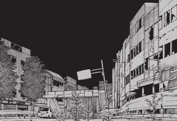 Ishiguro a su retranscrire dans ses planches l'ambiance d'un Japon frappé d'une catastrophe