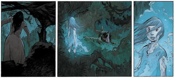 Il se passe des choses mystérieuses dans la forêt de ce tome 2...
