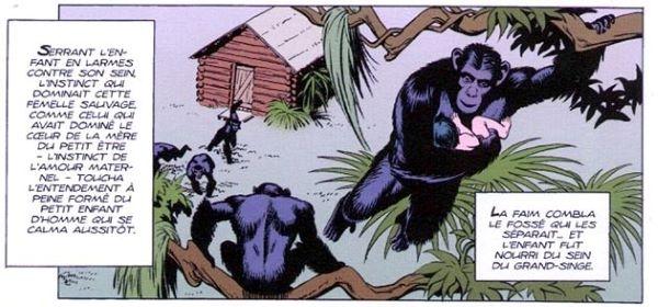 Parmi les nombreux artistes qui ont illustré le Seigneur de la jungle, Russ Manning est resté le plus mémorable