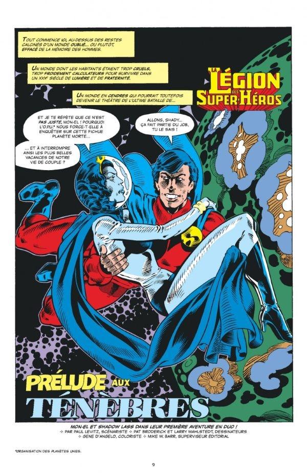Le retour de la Legion of Super-heroes, rajeunie, dépoussiérée, pour un nouveau départ en fanfare