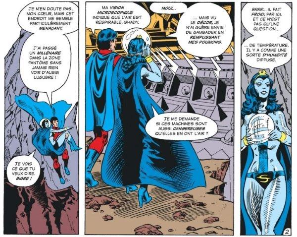 Levitz réinscrit donc les personnages dans la continuité classique de DC