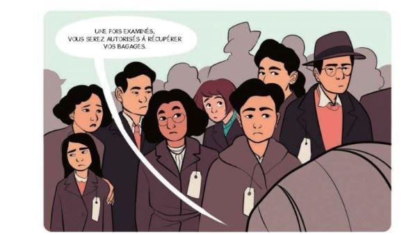 Kiku partage le quotidien de sa jeune grand-mère et de 120 000 citoyens nippo-américains