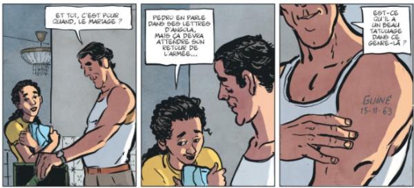 Fernando Pais, le personnage principal, a vécu une expérience de jeunesse douloureuse