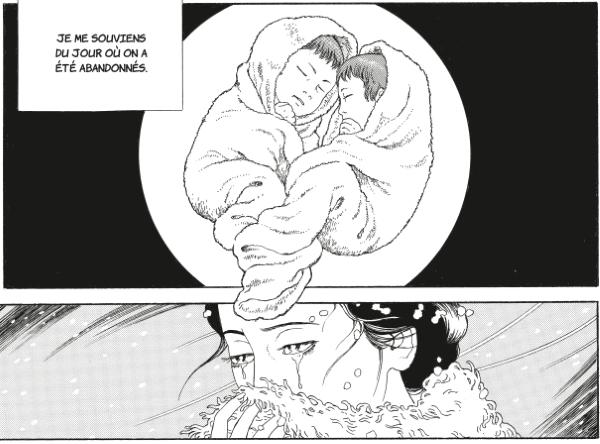 Tomino et Katan, abandonnés, sont des jumeaux télépathes