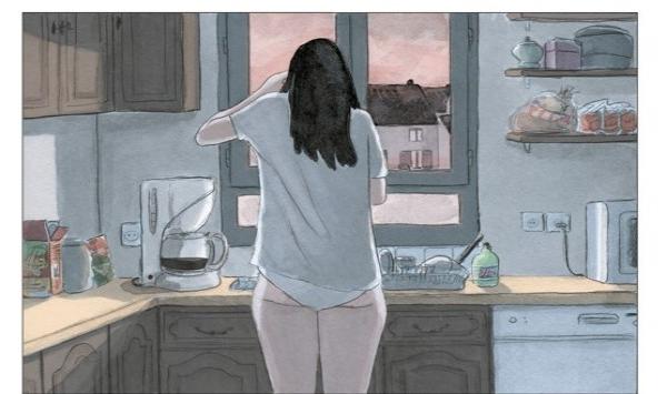 Chaque matin Iris se réveille avec une drôle de sensation