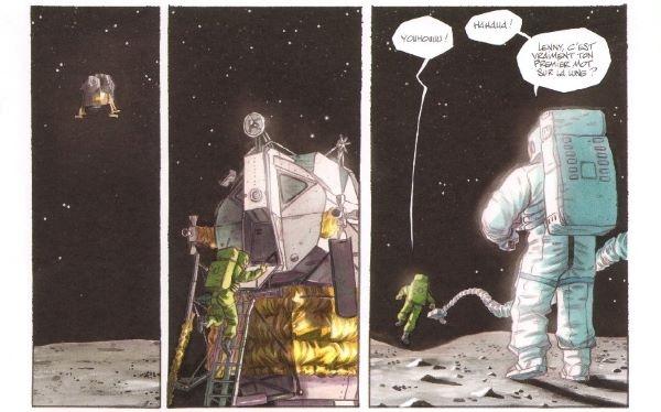 Une aventure dans l'espace
