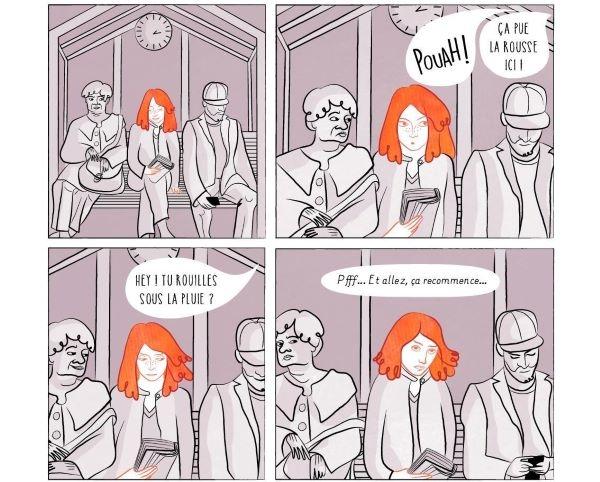 les personnes rousses subissent de nombreuses discrimination
