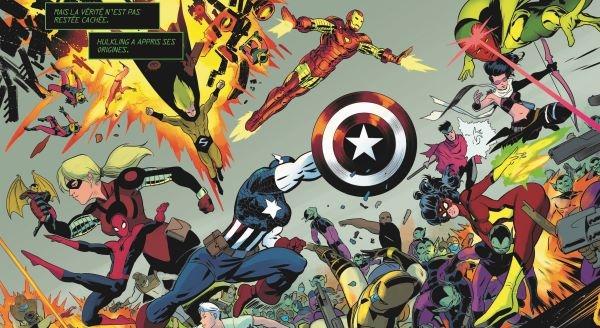 Le dernier crossover Marvel en date est présenté dans le même format que DAWN OF X