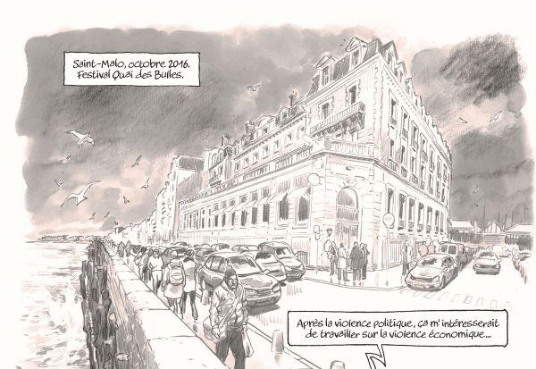 Une idée débuté au festival de la BD Quai des Bulles de Saint-Malo