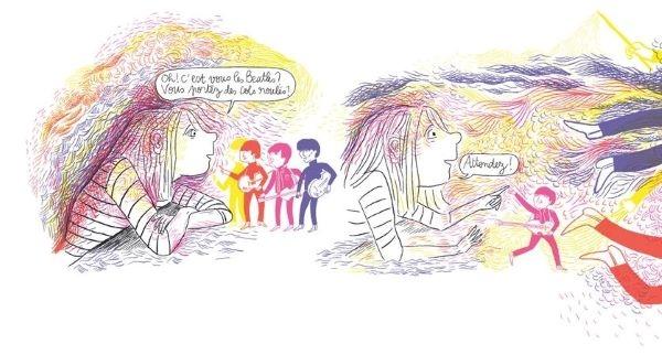 Une BD sur la phobie scolaire