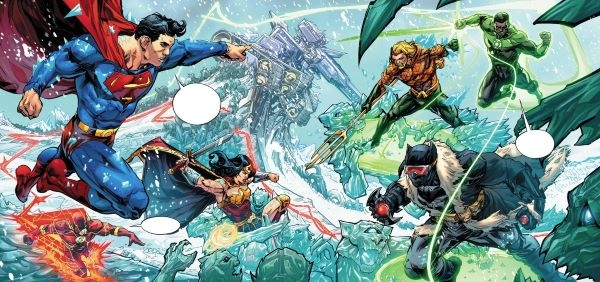 La Justice League s'oppose à cette ancienne divinité
