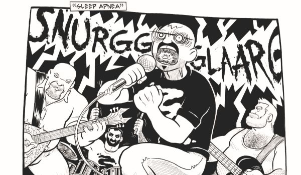 L'une des rares bandes dessinées indépendantes queer à recevoir de la presse en dehors de la communauté gay