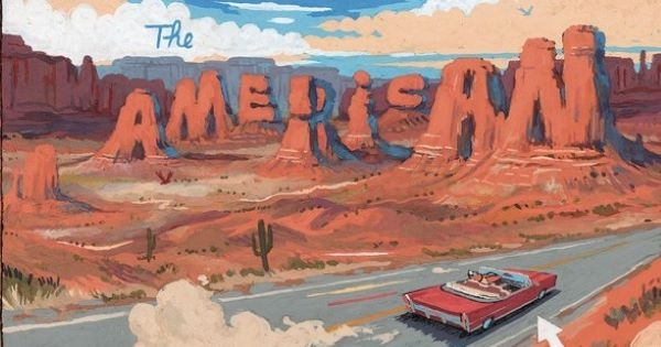 Francis est fan de la série L'Américain
