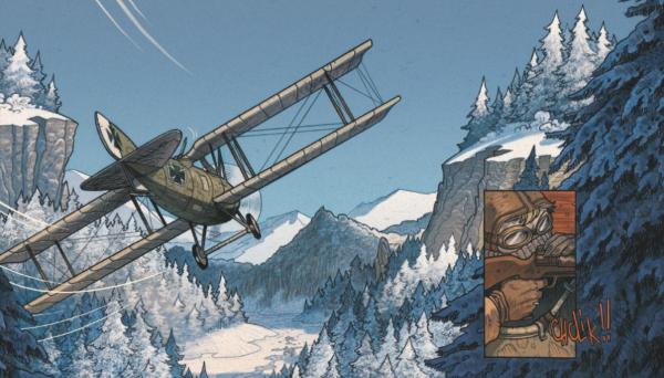 La Première Guerre mondiale comme décor