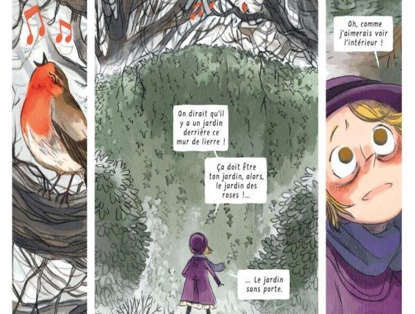 Mary va changer grâce à la recherche d'un jardin mystérieux