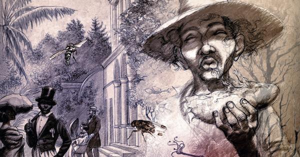 Le dessin envoûtant d'Yslaire encadre le récit de la vie d'un de nos plus auteurs du XIXe siècle
