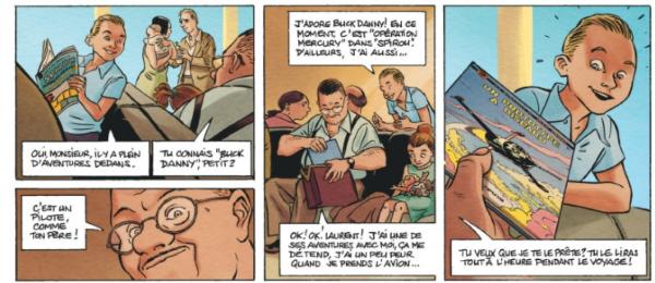 Très jeune, Jean-Laurent est déjà un grand fan de BD