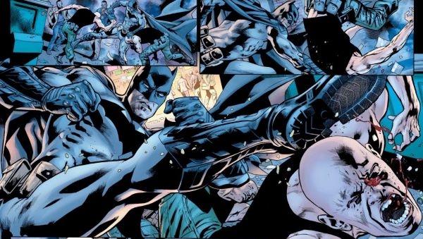 Batman traque sans relâche son ennemi Scorn