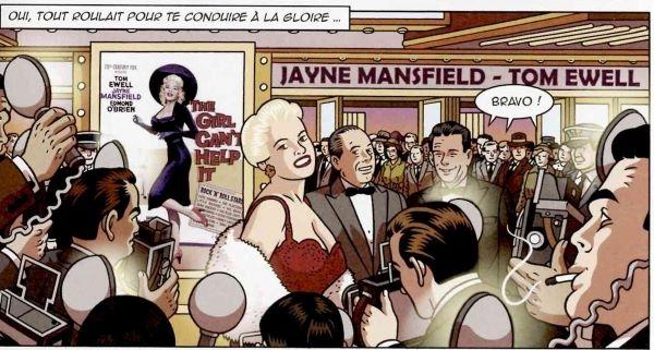 Jayne Mansfield s'élève au rang de sex-symbol planétaire
