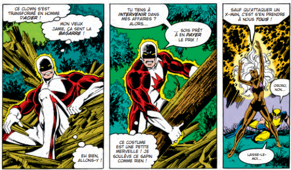 Les premières apparitions de l'équipe dans la série Uncanny X-Men